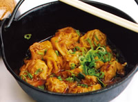 208 szechwan spicy dumplings - Panda Garden Sugar Land